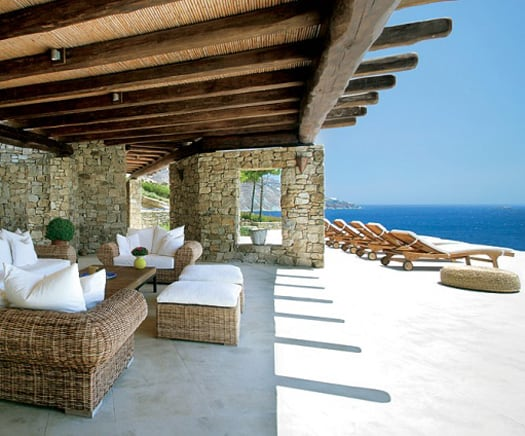 featured posts image for Exotic tropical villa in Mykonos
