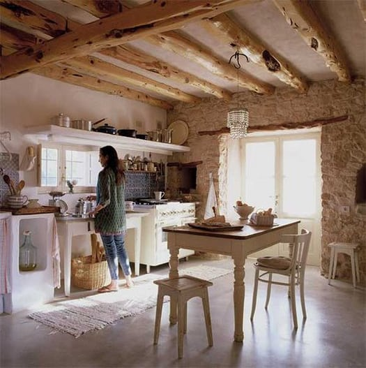featured posts image for Inspiring organic farmhouse style interiors