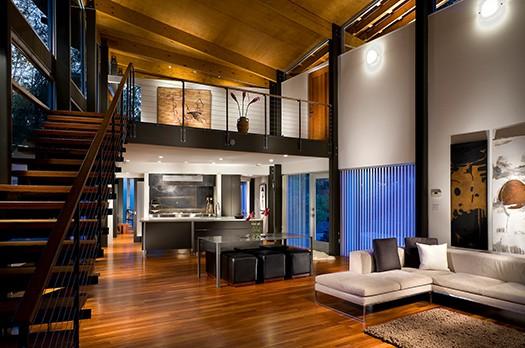 Strickland-Ferris Residence - Frank Harmon Architect-4