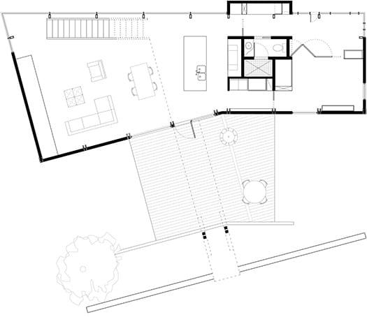 Strickland-Ferris Residence - Frank Harmon Architect-Floor Plan2