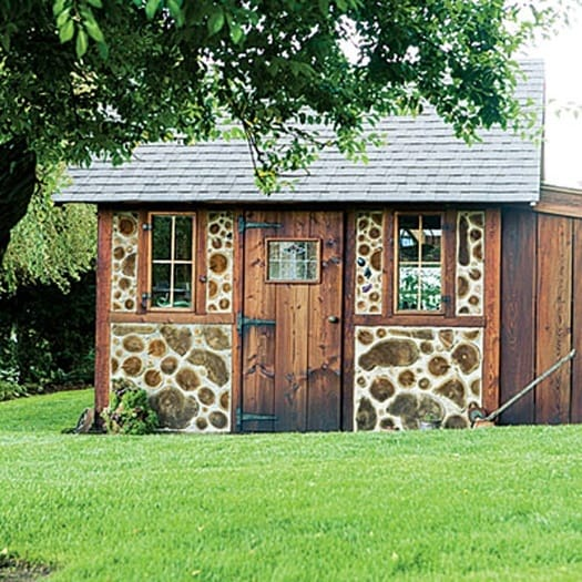 featured posts image for A charming fairytale garden shed on Decatur Island