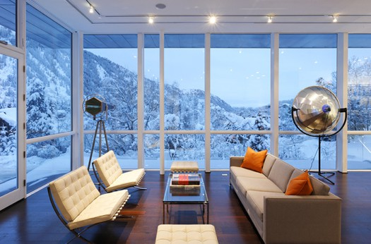 featured posts image for Modern retreat in the mountains