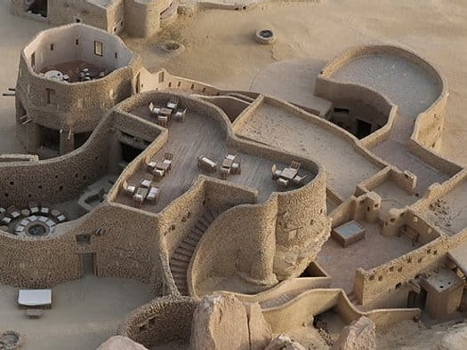 featured posts image for Amazing sand castle in the desert