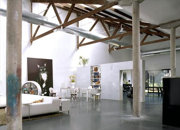 featured posts image for An industrial loft in Belgium