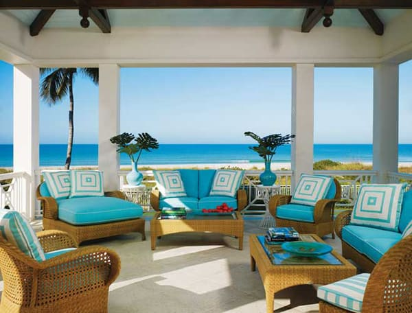 featured posts image for A colorful Captiva Island beach house