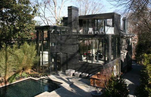 featured posts image for Captivating glass house features creative design