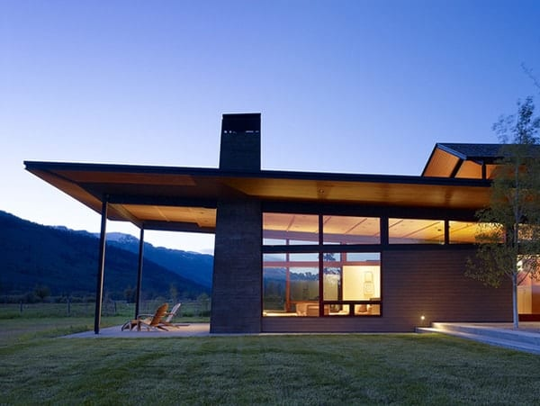 featured posts image for Extraordinary home immersed in the mountains