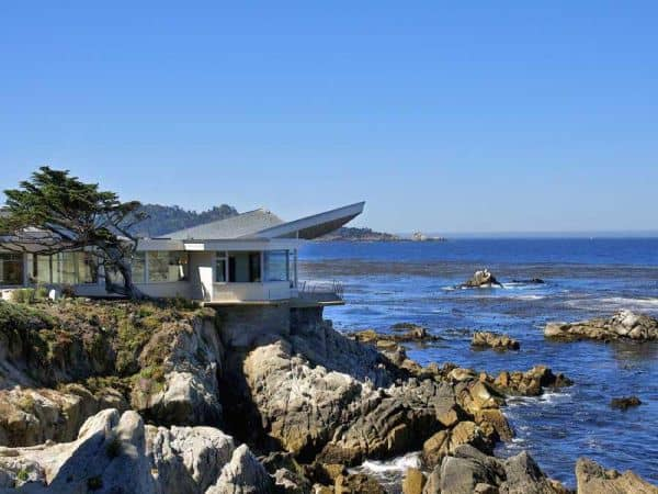 featured posts image for Butterfly House on the rocky shores of Carmel