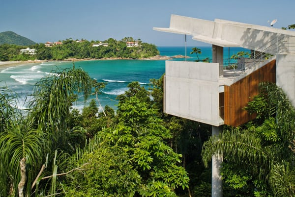 featured posts image for Modern Brazilian tree house on the coast