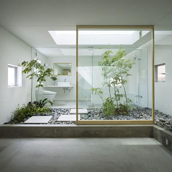 featured posts image for Japanese home features indoor garden room
