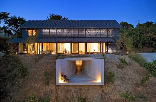 featured posts image for A Japanese barn house