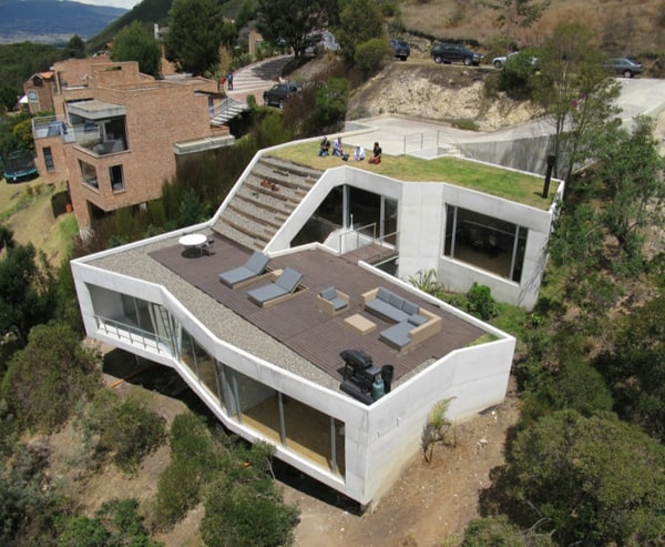 featured posts image for Unbelievable terraced home on rugged terrain