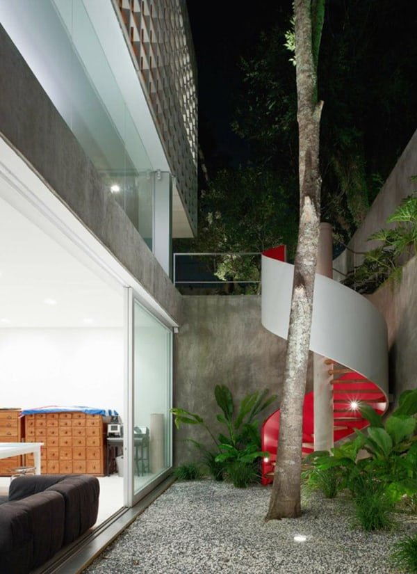 Sumare House-Isay Weinfeld Arquitecto-08-1 Kindesign