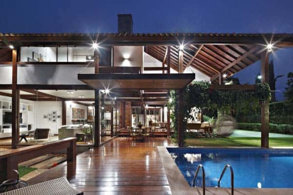 featured posts image for Spectacular garden house in Brazil