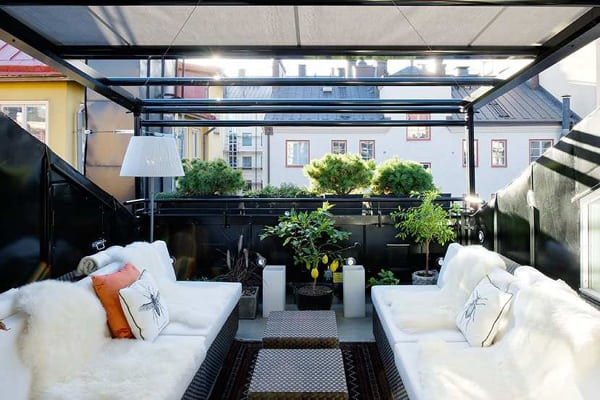 featured posts image for Swedish penthouse with gorgeous interiors