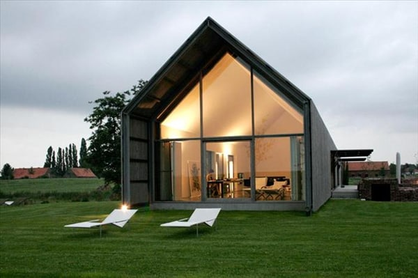 featured posts image for A transformed barn into a stylish home