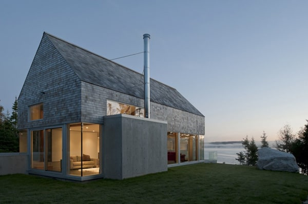 featured posts image for Courtyard house on the rugged coast