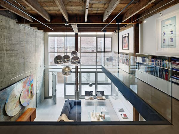 featured posts image for Modern warehouse loft transformed