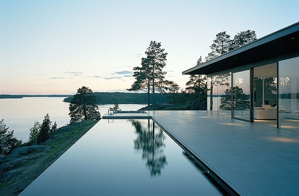 featured posts image for Classic modern lake house