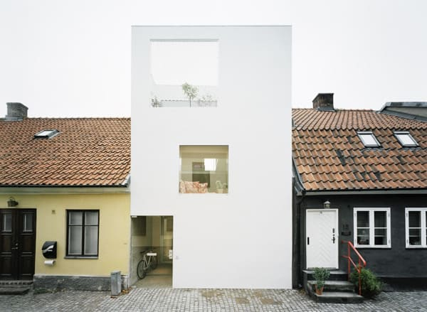 featured posts image for A Swedish townhouse holds impeccable style