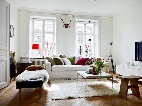 featured posts image for Beautiful Swedish apartment interiors