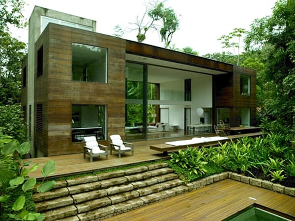 featured posts image for Amazonian jungle house blurs indoor-outdoor boundaries