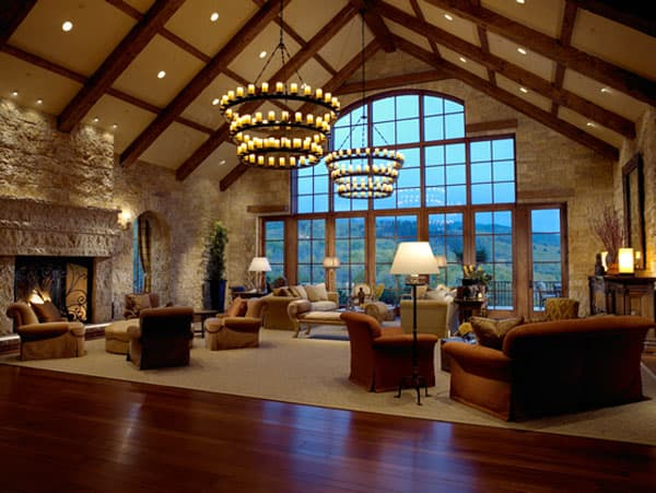featured posts image for Tuscan-inspired home on the Aspen mountains