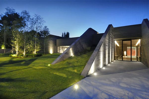 featured posts image for Unbelievable concrete home in Madrid
