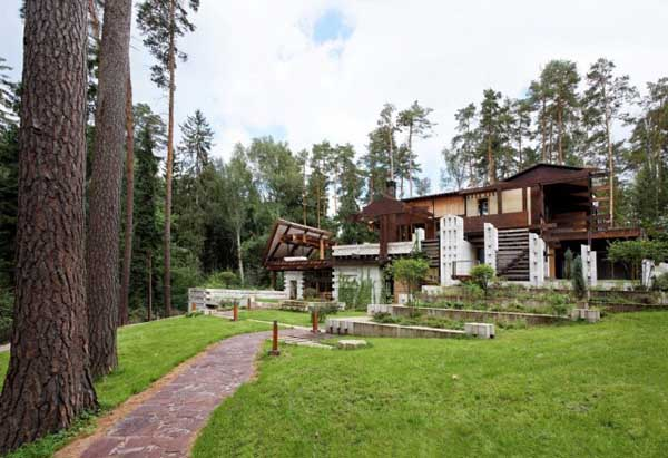 featured posts image for Stunning villa design in Moscow: Drova Villa