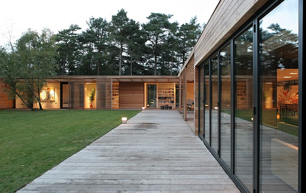 featured posts image for Gorgeous wooden home in the Swedish forest