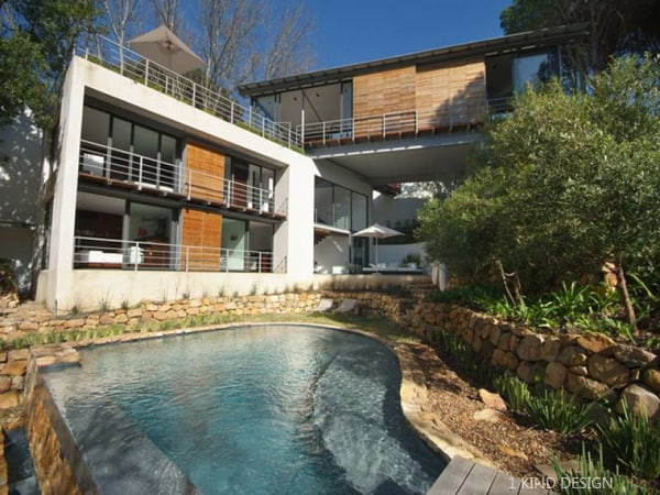 featured posts image for Contemporary Bridge House in Cape Town