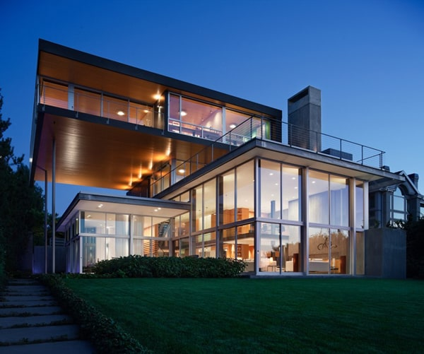featured posts image for Captivating modern lake house