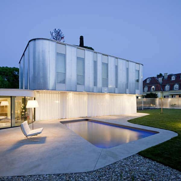 featured posts image for Stunning modern residence in Vienna