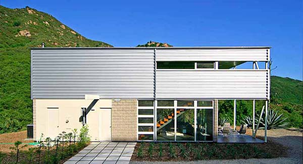 featured posts image for Stunning steel and glass residence in Malibu