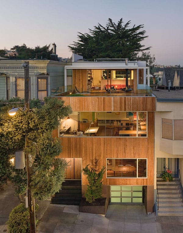 featured posts image for Modern home with a fabulous rooftop deck
