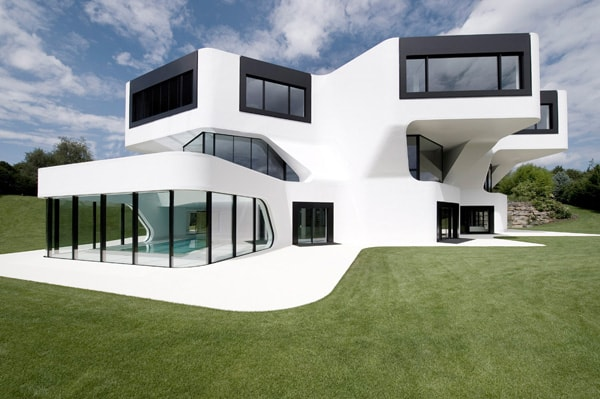 featured posts image for Unique modern villa in Germany