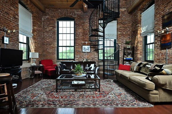 featured posts image for Historical penthouse loft at Mills Mill