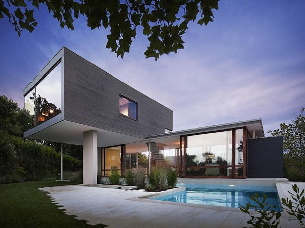 featured posts image for Contemporary beach house at Montauk Point