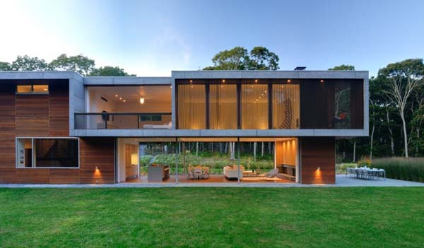 featured posts image for Contemporary family vacation home in Montauk