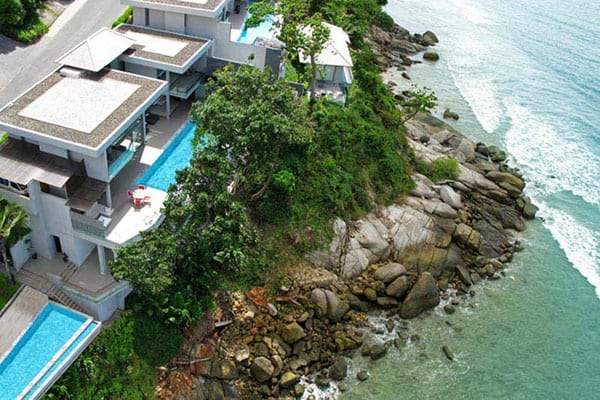 featured posts image for Romantic oceanfront holiday home in Phuket