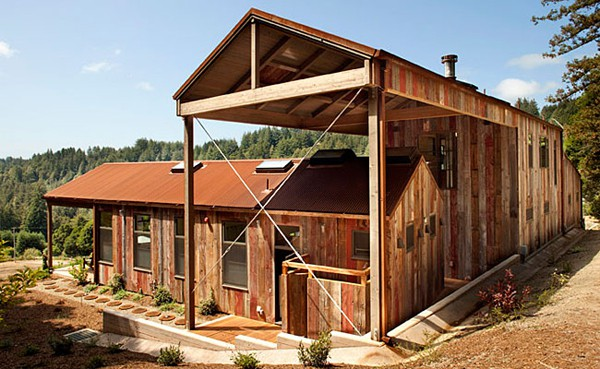 featured posts image for Rustic retreat in the Santa Cruz Mountains