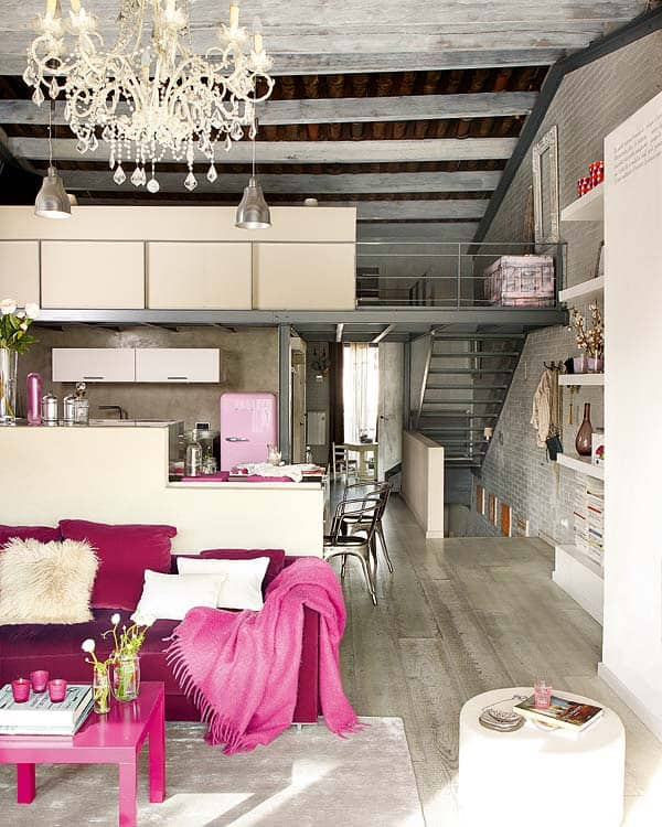 featured posts image for Unique vintage loft home in Barcelona