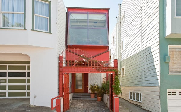 featured posts image for A 10 foot wide home in San Francisco