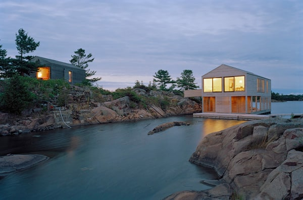 featured posts image for Floating house on an island on Lake Huron