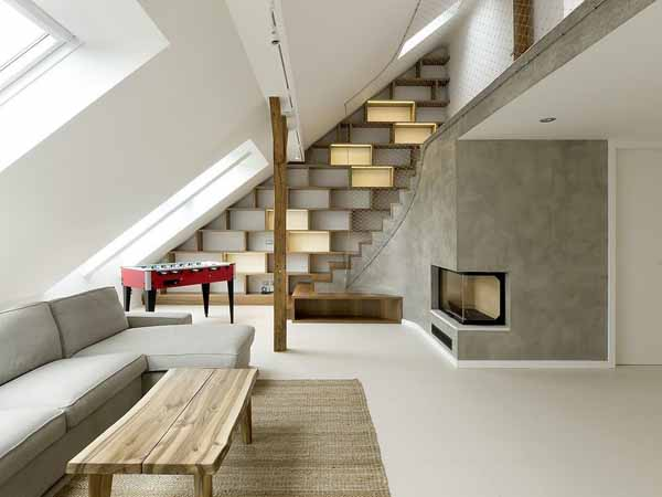 featured posts image for Super unique loft design in Prague