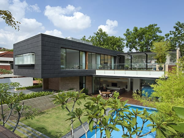 featured posts image for Sustainably designed home in Singapore: 45 Faber Park
