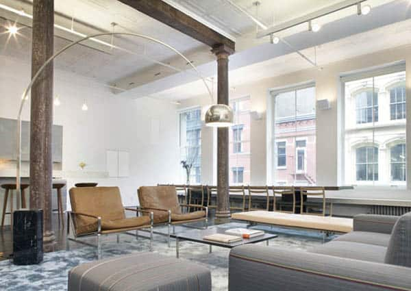 featured posts image for Incredible industrial loft space in New York