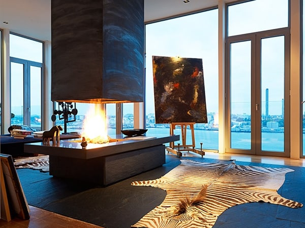 featured posts image for Magnificent penthouse on Lidingö Island