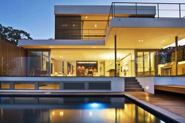 featured posts image for Contemporary home with a warm inviting feel