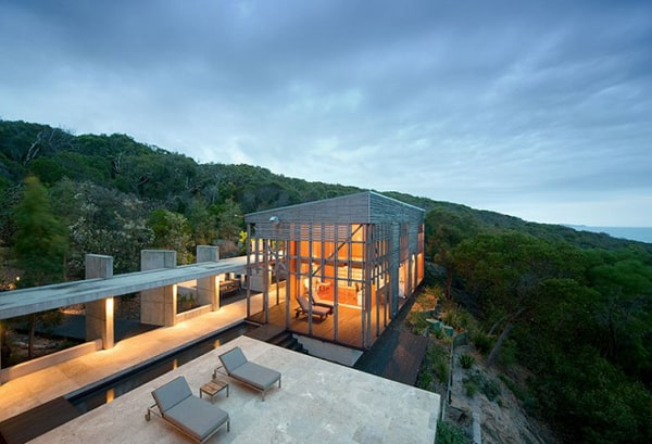 featured posts image for Steel and glass home with jaw-dropping views